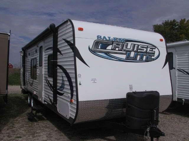2014 FOREST RIVER Cruise Lite T281BHXL