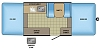 2017 Jayco Jay Sport 10SD fold down tent camping trailer