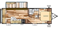 2017 Forest River Salem 27RLSS Travel Trailer