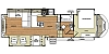 2015 Forest River Salem Hemisphere Lite 327RE 5th wheel trailer