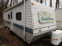 1997 Coachmen 24BH Catalina travel trailer
