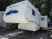 2000 Sunnybrook 27RFKS 5th wheel trailer