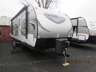 2016 Forest River 30QBSS Salem Travel Trailer