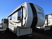 2017 Jayco 381DLQS North Point 5th fifth wheel trailer pre-camped used