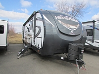 2018 FOREST RIVER 312QBUD SALEM HEMISPHERE GLX TRAVEL TRAILER