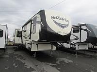 2019 Forest River Salem 34RL Hemisphere 5th wheel trailer w/ auto level