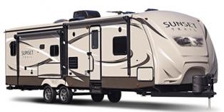 2017 CrossRoads Sunset Trail Super Lite SS291RK travel trailer
