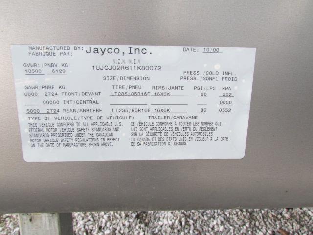 2001 Jayco Designer Legacy 3590RLTS 5th Wheel Trailer