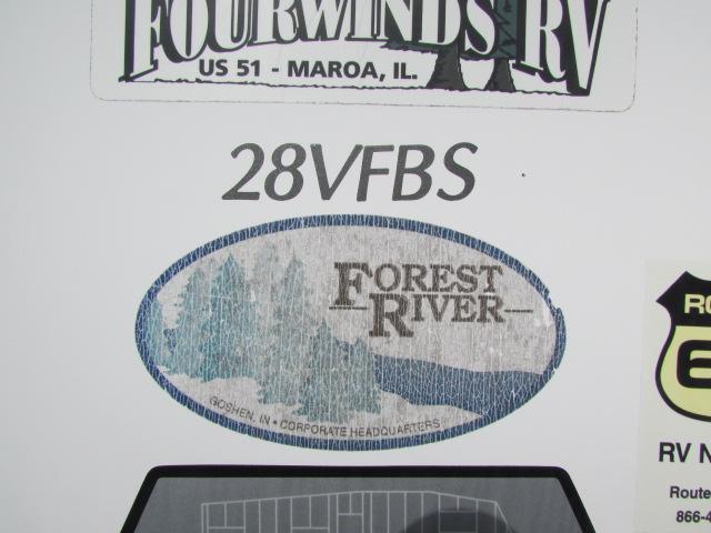 2009 Forest River V-Cross T28V FBS travel trailer