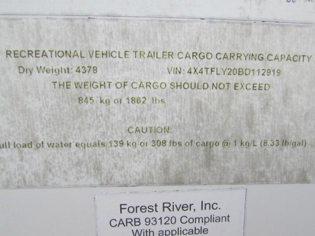 2011 Forest River Flagstaff Shamrock 233S Travel Trailer