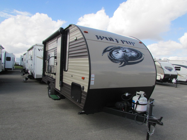 2017 Forest River Wolf Pup 16FQ Cherokee Travel Trailer