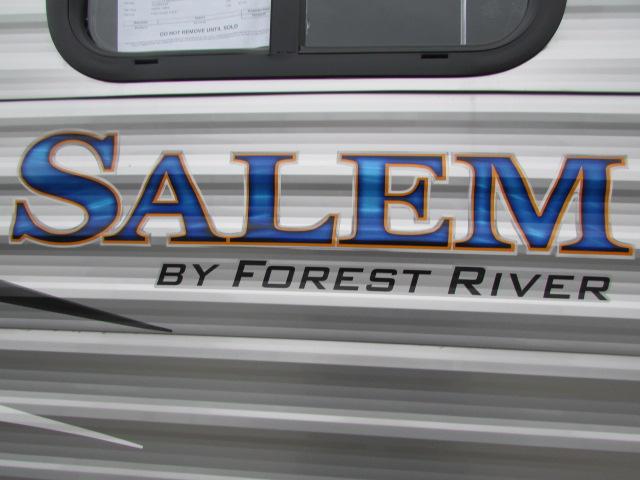 2018 FOREST RIVER 27DBUD SALEM TRAVEL TRAILER