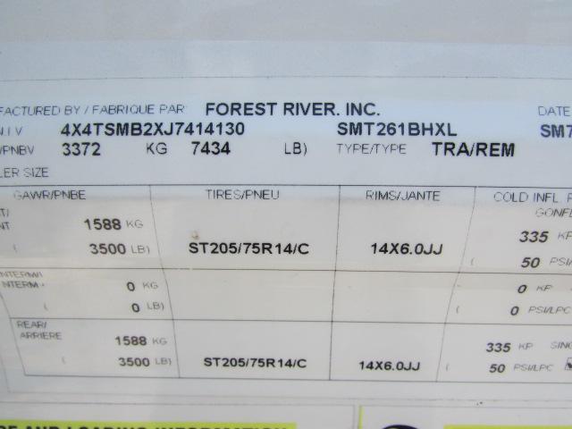 2018 Forest River Salem Cruise Lite 261BHXL Travel Trailer