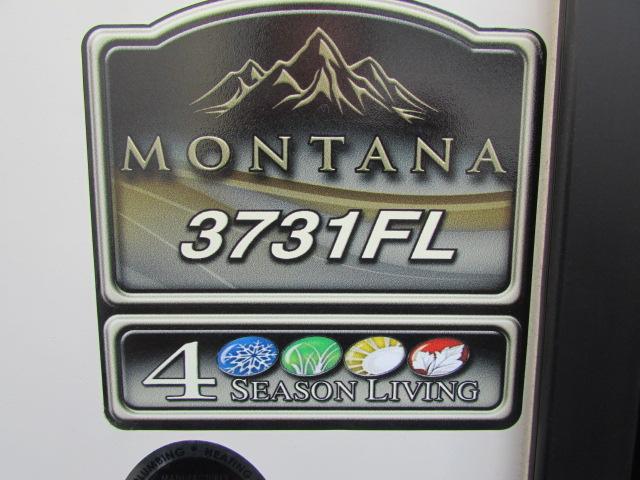 2018 KEYSTONE 3731FL MONTANA FIFTH WHEEL