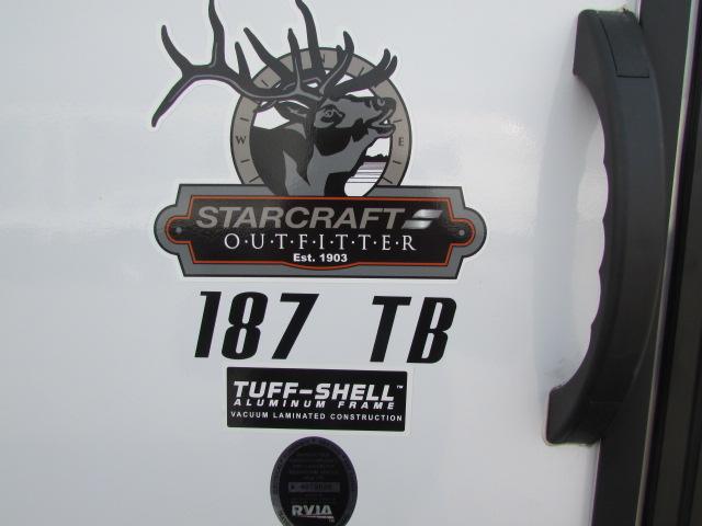 2018 STARCRAFT 187TB LAUNCH TRAVEL TRAILER