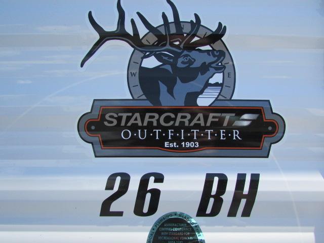 2018 STARCRAFT 26BH AUTUMN RIDGE OUTFITTER TRAVEL TRAILER