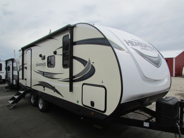 2019 FOREST RIVER 22RBHL HEMISPHERE HYPER-LITE TRAVEL TRAILER