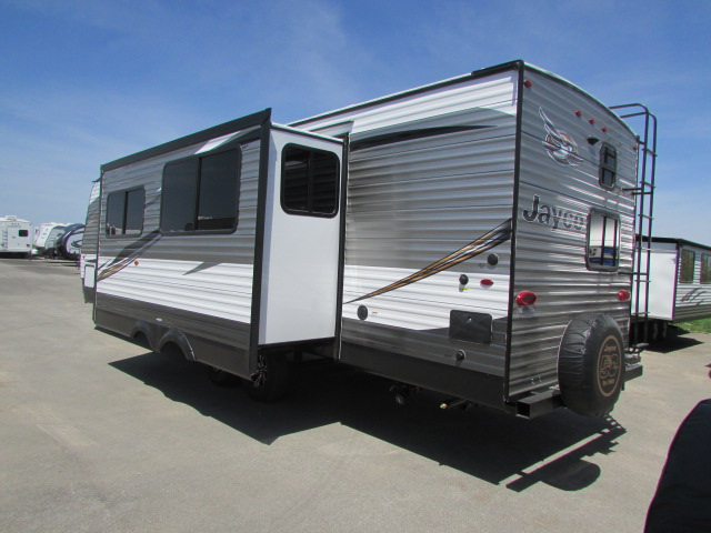Jayco Travel Trailer Outside Grill