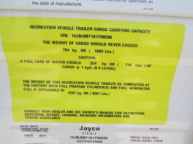 2019 JAYCO 33RBTS JAY FLIGHT TRAVEL TRAILER