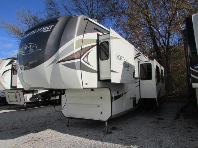 2019 Jayco North Point 379DBFS 5th wheel trailer