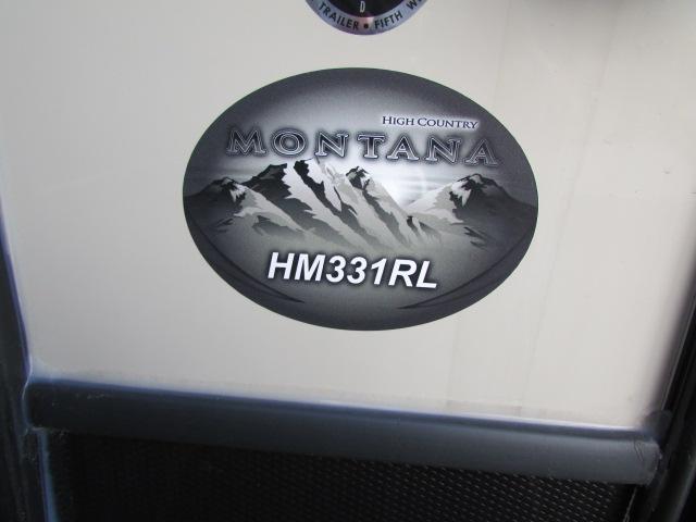 2019 KEYSTONE 331RL MONTANA HIGH COUNTRY FIFTH WHEEL