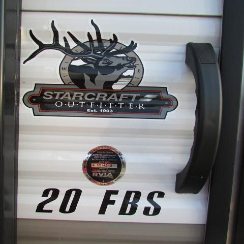 2019 Starcraft 20FBS Autumn Ridge Outfitter travel trailer