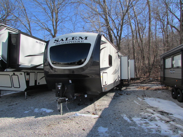 2021 Forest River Salem Hemisphere GLX 310BHI travel trailer