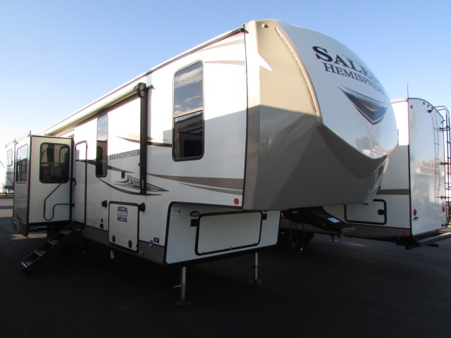 2021 FOREST RIVER 372RD SALEM HEMISPHERE FIFTH WHEEL WITH AUTO LEVELING